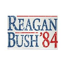 reagan bush 84 t shirt Magnets