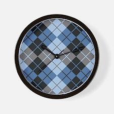Argyle Design Wall Clock