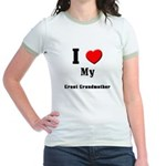 I Love Great Grandmother Jr. Ringer T-Shirt