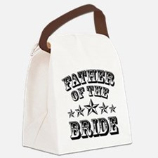 Cool Father Of The Bride Canvas Lunch Bag