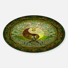 Yin Yang Tree of Life Decal