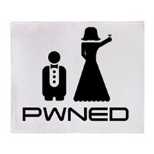 Pwned. Throw Blanket