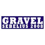 Gravel-Sebelius 2008 bumper sticker