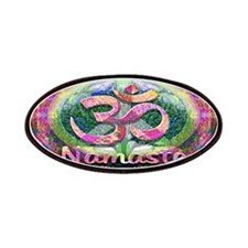 Namaster Tree of Life Peace Symbol Patches
