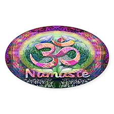 Namaster Tree of Life Peace Symbol Bumper Stickers