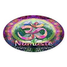 Namaster Tree of Life Peace Symbol Decal
