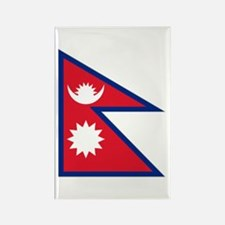 Nepalese flag Rectangle Magnet