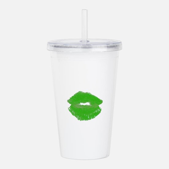 Irish Green Pucker Acrylic Double-Wall Tumbler
