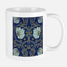 White Blue Tulips Mugs