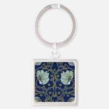 White Blue Tulips Keychains