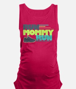 Run Mommy Run - Shoe Maternity Tank Top