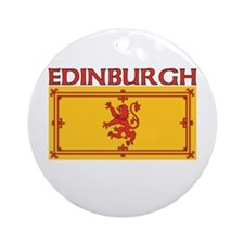 Edinburgh, Scotland Ornament (Round)