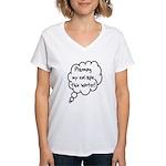 Planning Escape (Winter) Women's V-Neck T-Shirt
