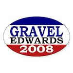 Gravel-Edwards 2008 bumper sticker