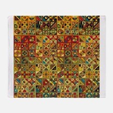 Cute Ethnic Throw Blanket