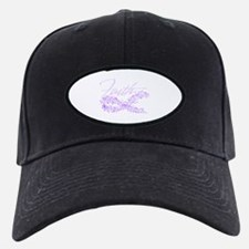 Purple Cancer Awareness Ribbon Baseball Hat