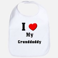 I Love Granddaddy Bib