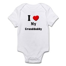 I Love Granddaddy Infant Bodysuit