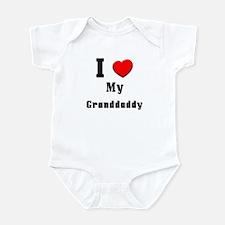 I Love Granddaddy Infant Bodysuit