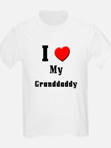 I Love Granddaddy T-Shirt