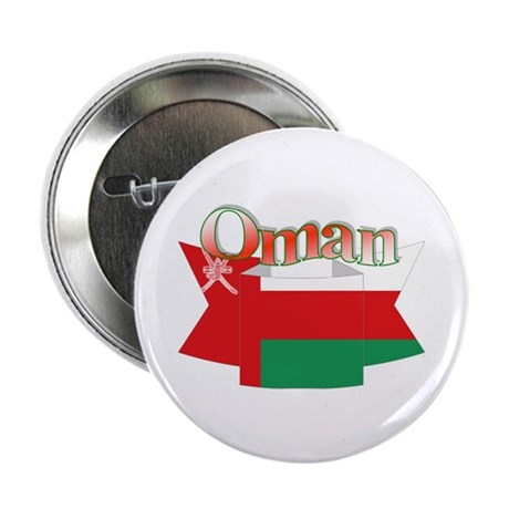"Oman flag ribbon 2.25"" Button (10 pack)"