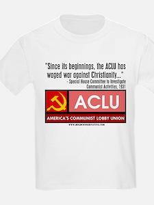 ACLU: War On Christ T-Shirt