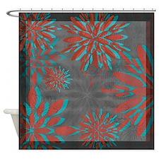 Floral Motif 3 ~ Shower Curtain