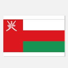 Flag Oman Postcards (Package of 8)
