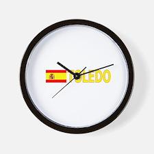 Toledo, Spain Wall Clock
