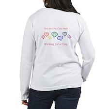 Women's Long Sleeve Walk for a Cure T-shirt