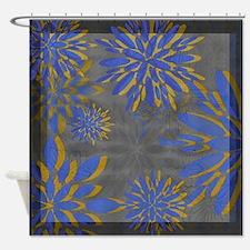Floral Motif 6 ~ Shower Curtain