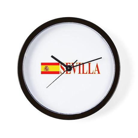 Sevilla, Espana Wall Clock