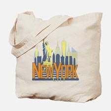 NYC Skyline Bold Tote Bag