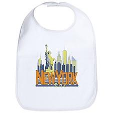 NYC Skyline Bold Bib