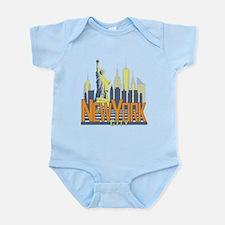 NYC Skyline Bold Body Suit
