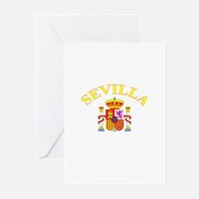 Sevilla, Espana Greeting Cards (Pk of 10)