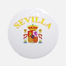 Sevilla, Espana Ornament (Round)