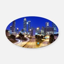 34496078 Oval Car Magnet