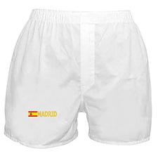 Madrid, Spain Boxer Shorts