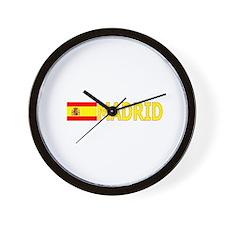 Madrid, Spain Wall Clock