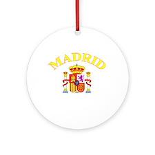 Madrid, Spain Ornament (Round)