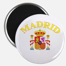 "Madrid, Spain 2.25"" Magnet (10 pack)"