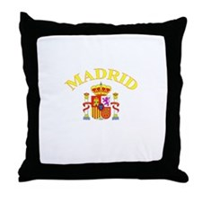Madrid, Spain Throw Pillow