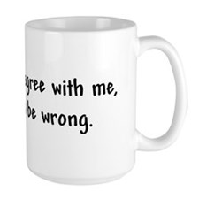 I'm Always Right! Mug