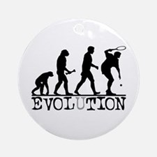 EVOLUTION Tennis Ornament (Round)