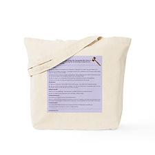 Murphys Law of Pumping Tote Bag