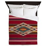 Cowboys and indians Luxe Full/Queen Duvet Cover