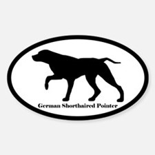 German Shorthaired Pointer Silhouette Decal