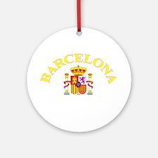 Barcelona, Spain Ornament (Round)