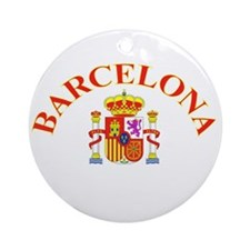 Barcelona, Spain Ornament (Round)